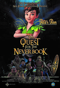 Peter Pan: The Quest for the Never Book poster art