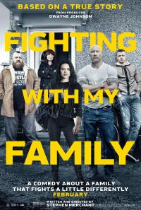 Fighting with My Family poster art