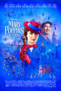 Mary Poppins Returns poster art