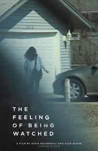 The Feeling Of Being Watched poster art