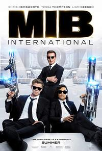 Men In Black: International poster art