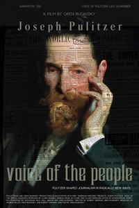 Joseph Pulitzer: Voice of the People poster art