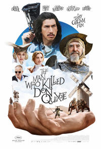 The Man Who Killed Don Quixote poster art
