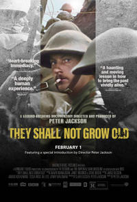 They Shall Not Grow Old poster art