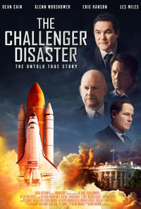 The Challenger Disaster poster art