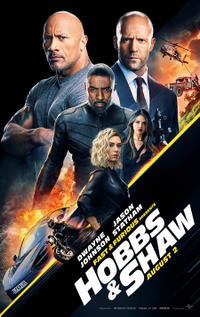 Hobbs and Shaw poster art
