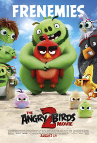 The Angry Birds Movie 2 poster art