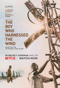 The Boy Who Harnessed The Wind poster art