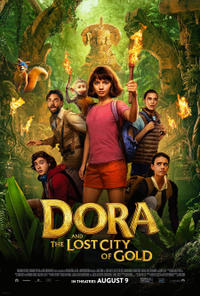 Dora and the Lost City of Gold poster art
