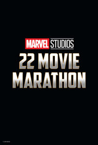Marvel Studios 22 Movie Marathon poster art