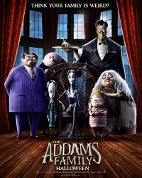 The Addams Family poster art