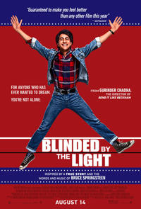 Blinded By The Light poster art