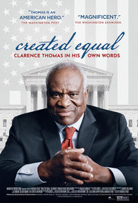 Created Equal: Clarence Thomas in His Own Words poster art