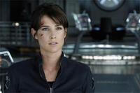 Cobie Smulders as Agent Maria Hill in
