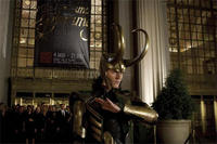 Tom Hiddleston as Loki in