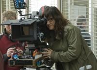 Director Isabel Coixet on the set of