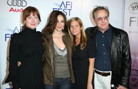 Actresses Lynn Collins and Ashley Judd with producer Holly Weirsma and director William Friedkin at the screening of