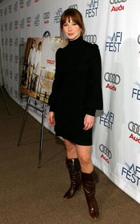 Lynn Collins at a screening of