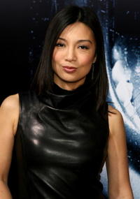 Actress Ming Wen at the L.A. premiere of