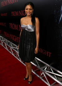 Actress Erica Hubbard at the L.A. premiere of