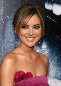 Actress Jessica Stroup at the L.A. premiere of