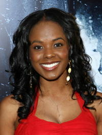 Actress Dana Davis at the L.A. premiere of