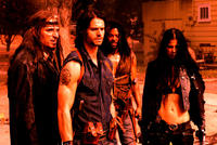 Natassia Malthe, Jason Behr, Rogue Johnston and Kim Coates in