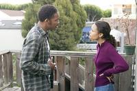 Will Smith and Thandie Newton in