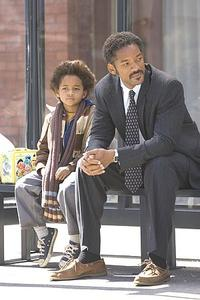 Jaden Smith and Will Smith in
