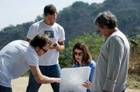 Stephen Dorff, director Sofia Coppola and producer G. Mac Brown on the set of