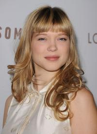 Lea Seydoux at the California premiere of