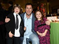 Jonathan Heit, Adam Sandler and Laura Ann Kesling at the after party of the California premiere of