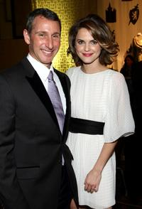 Director Adam Shankman and Keri Russell at the after party of the California premiere of