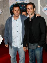 Adam Sandler and Guy Pearce at the California premiere of