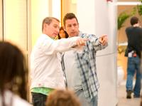 Adam Shankman and Adam Sandler in