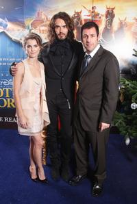Keri Russell, Russell Brand and Adam Sandler at the UK premiere of