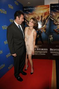 Adam Sandler and Keri Russell at the UK premiere of