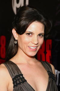 Actress Leah Cairns at the Las Vegas premiere of
