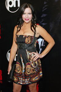 Actress Christa Campbell at the Las Vegas premiere of