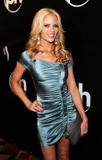 Television personality Shana Wall at the Las Vegas premiere of