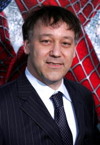 Director Sam Raimi at the premiere of