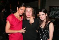 Jill Hennessy, Rory Culkin and Emma Roberts at the after party of the New York premiere of