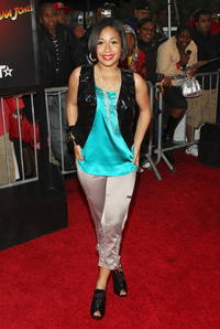 Singer Tiffany Evans at the N.Y. premiere of