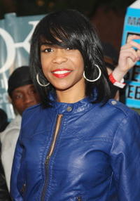 Singer Michelle Williams at the N.Y. premiere of