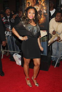 Singer Ashanti at the N.Y. premiere of