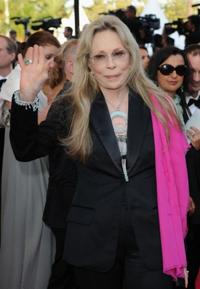 Faye Dunaway at the premiere of