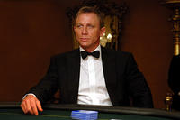 James Bond (Daniel Craig) waits for the games to begin in