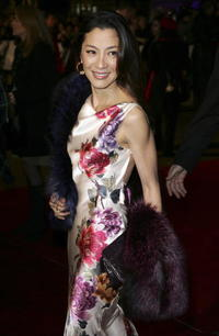Michelle Yeoh at the London premiere of