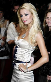 Paris Hilton at the London premiere of