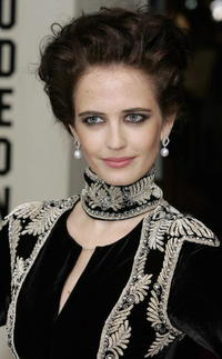 Eva Green at the London premiere of